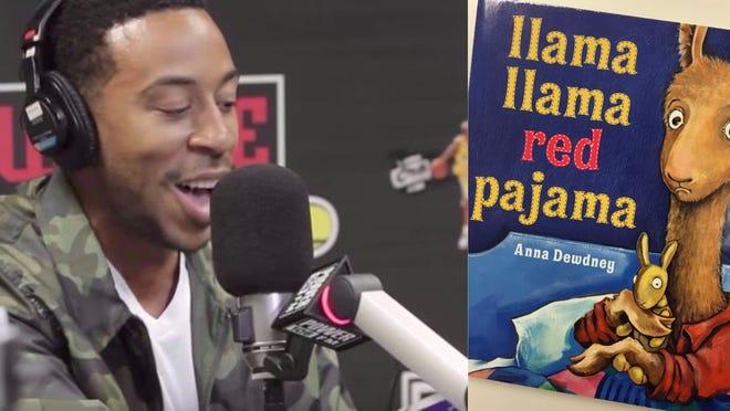 Ludacris Llama Llama Red Pajama Power 106 The Cruz Show Anna Dewdney