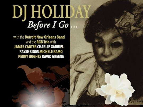 The cover of DJ Holiday's CD.