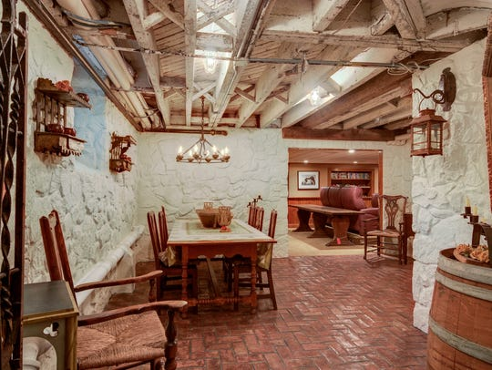 The basement of the Henry Canby House has been overhauled