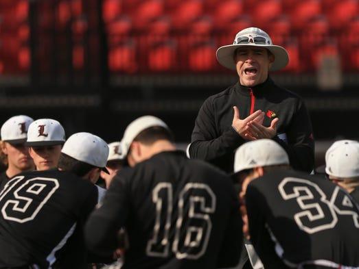 Louisville baseball head coach Dan McDonnell talks