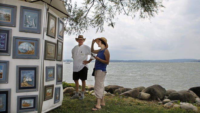 A file photo from the 2011 Waterfront Art Festival in Canandaigua,