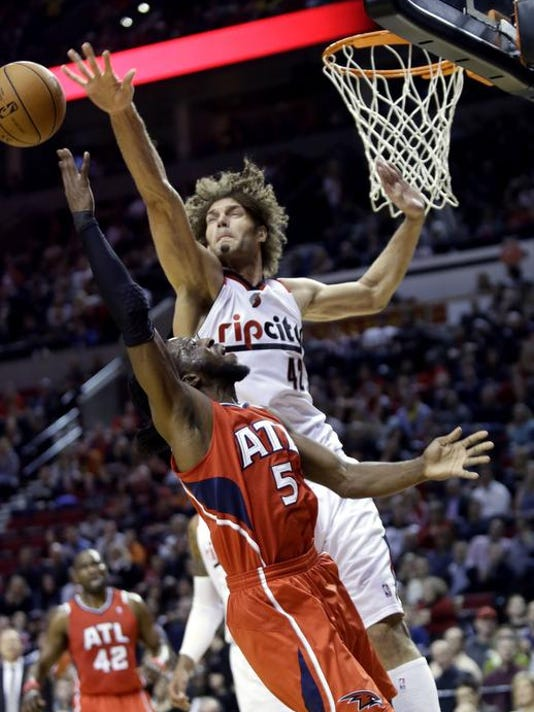 Hawks Trail Blazers Basketball