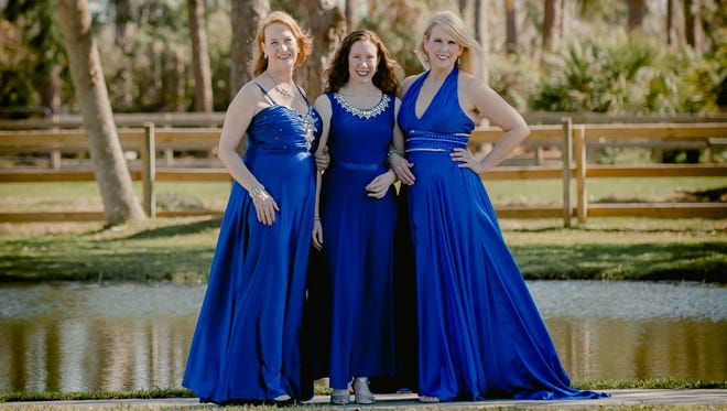 Sherry MacLean, Beth Green and Tee Rockwell, The Three Sopranos of Florida, will sing their way through American folk music during a free concert Sunday, June 17, at Eastminster Presbyterian Church in Indialantic.