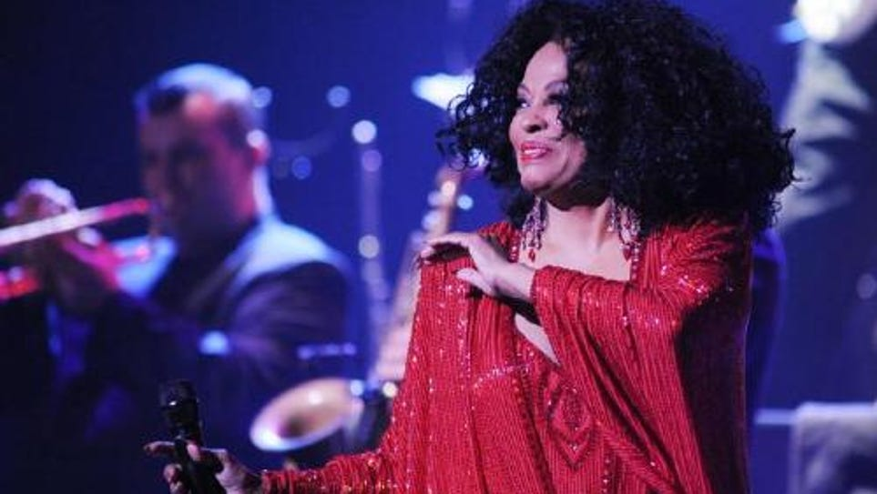 Diana Ross performs at the Peace Center Feb. 15.