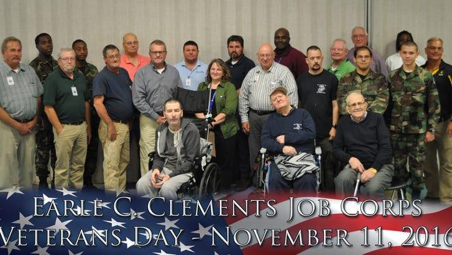 Job Corps and Morganfield Nursing and Rehab veterans.