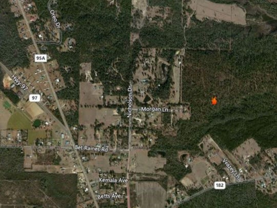 Wildfire In Molino Nearly 90 Percent Contained
