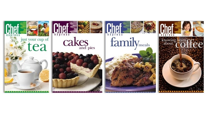 Download March e-cookbooks to the device of your choie