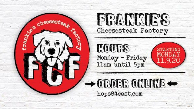 Frankie's Cheesesteak Factory recently launched its Facebook page and official logo. It will open for business Monday, Nov. 9.