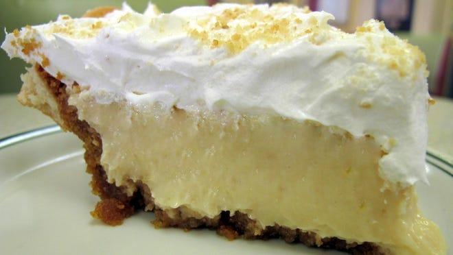 Luscious Lemon Ice Box Pie
