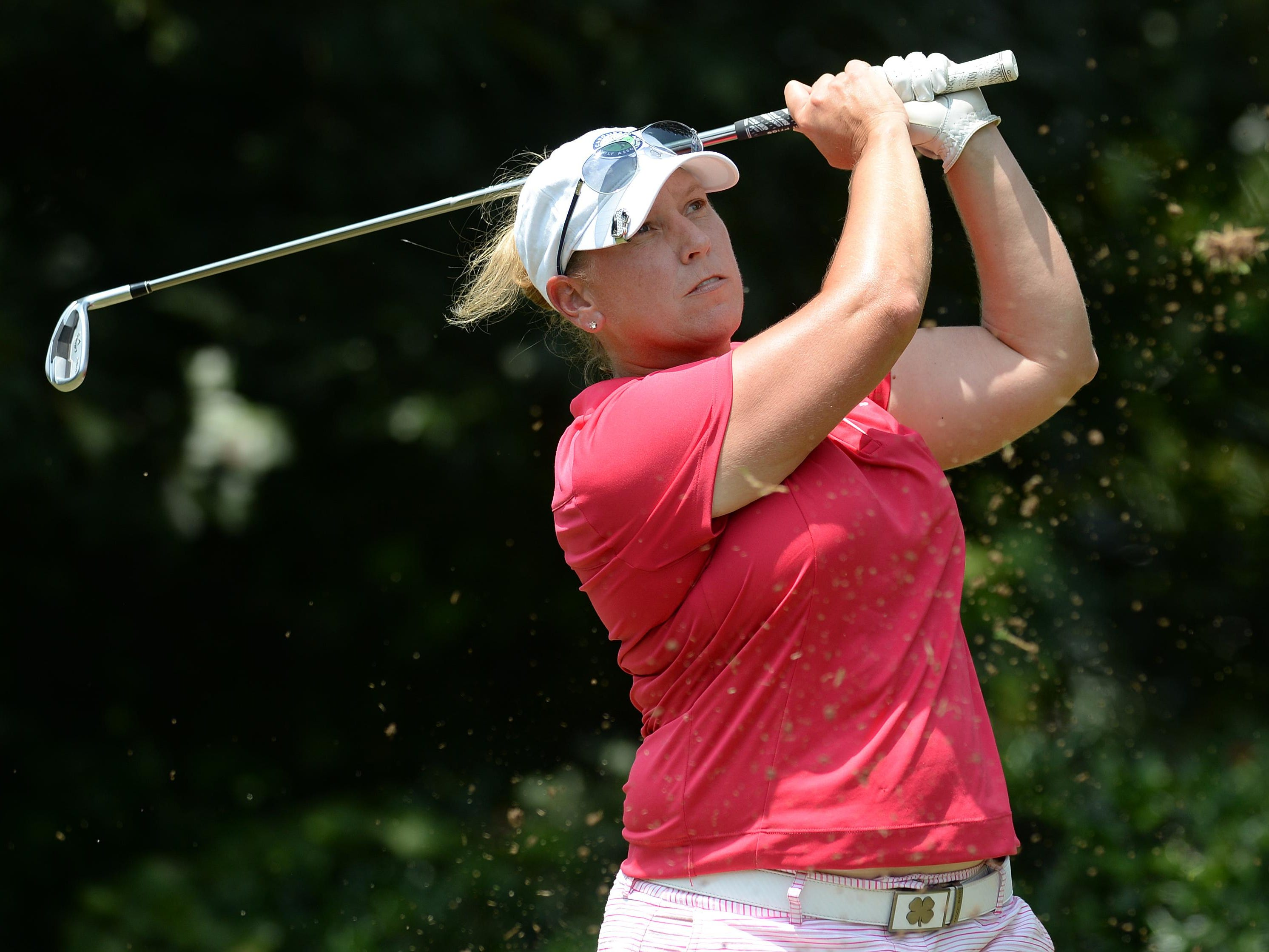 While recording a strong summer on the golf course, Simpsonville's Lea Venable has been on the road almost constantly to help care for two family members who recently experienced medical emergencies.