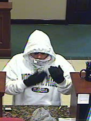 Authorities are searching for a man who robbed a bank in Punta Gorda at the end of November.