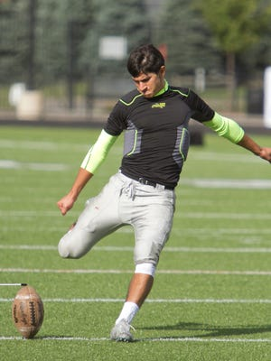 Brighton's Rudy Ramirez kicked the winning field goal in the final minute and also had a 46-yarder last Friday at Grand Blanc.