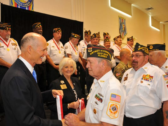 Governor's medals for vets