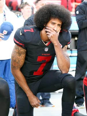When will Colin Kaepernick lend his voice to the ongoing debate within the NFL on how best to highlight and address social injustice?