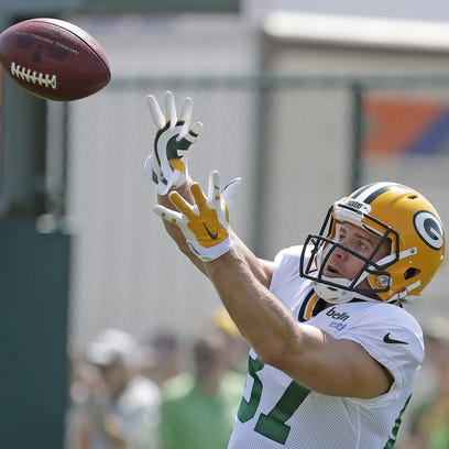 Green Bay Packers wide receiver Jordy Nelson (87) during