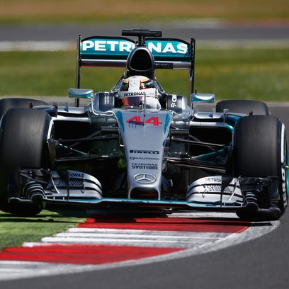 Lewis Hamilton qualified first for the British Grand