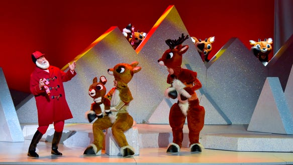 """Rudolph the Red-Nosed Reindeer: The Musical"" continues"