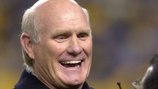 Terry Bradshaw, ex Steeler great and Hall of Famer,