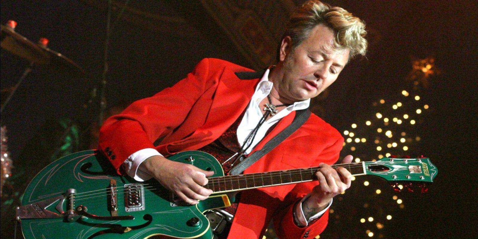 Brian Setzer Christmas.Brian Setzer Bring Christmas Rock Songs To Old Palm Springs