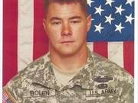 Sgt. Edward H. Bolen of Chittenango, NY, was born in Syracuse, N.Y. He was killed in Afghanistan on Nov. 10, 2010, and is survived by his wife Andrea Perez Bolen, of Blauvelt.