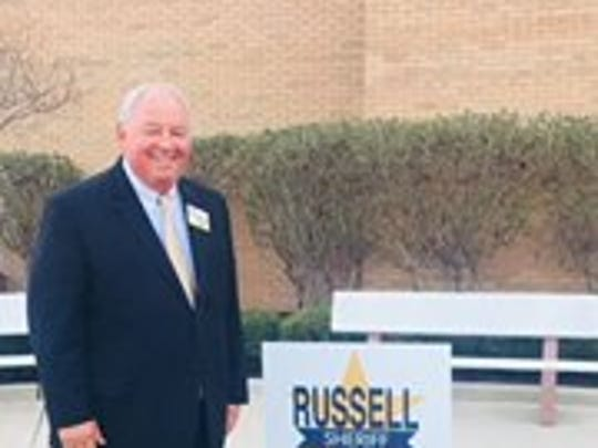 Hamilton County sheriff's candidate Mitch Russell.