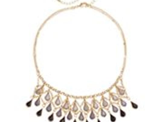 This LC Lauren Conrad ombre statement necklace can