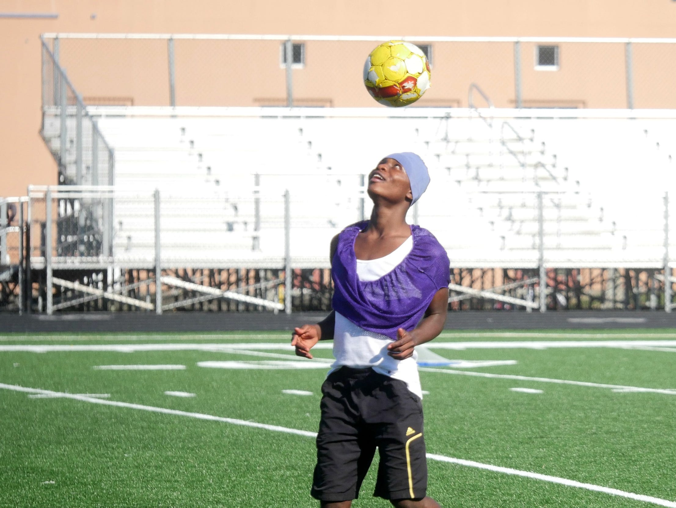 Foster's Desire Katameya is leading the region with 20 goals.