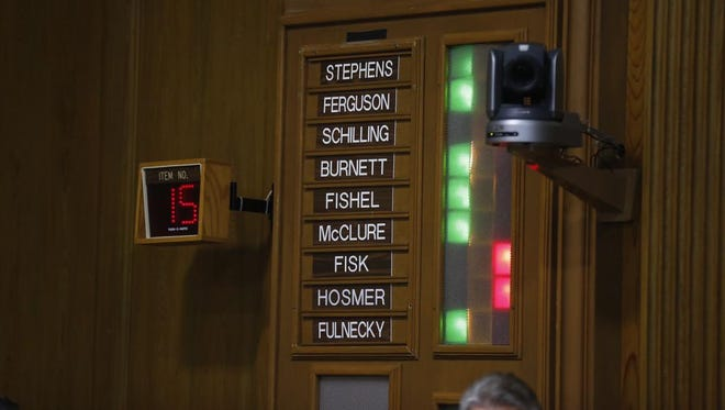 Springfield's stricter indecent exposure law passed by the slimmest of margins Monday night, 5-4.