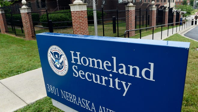 The Homeland Security Department headquarters in northwest Washington.