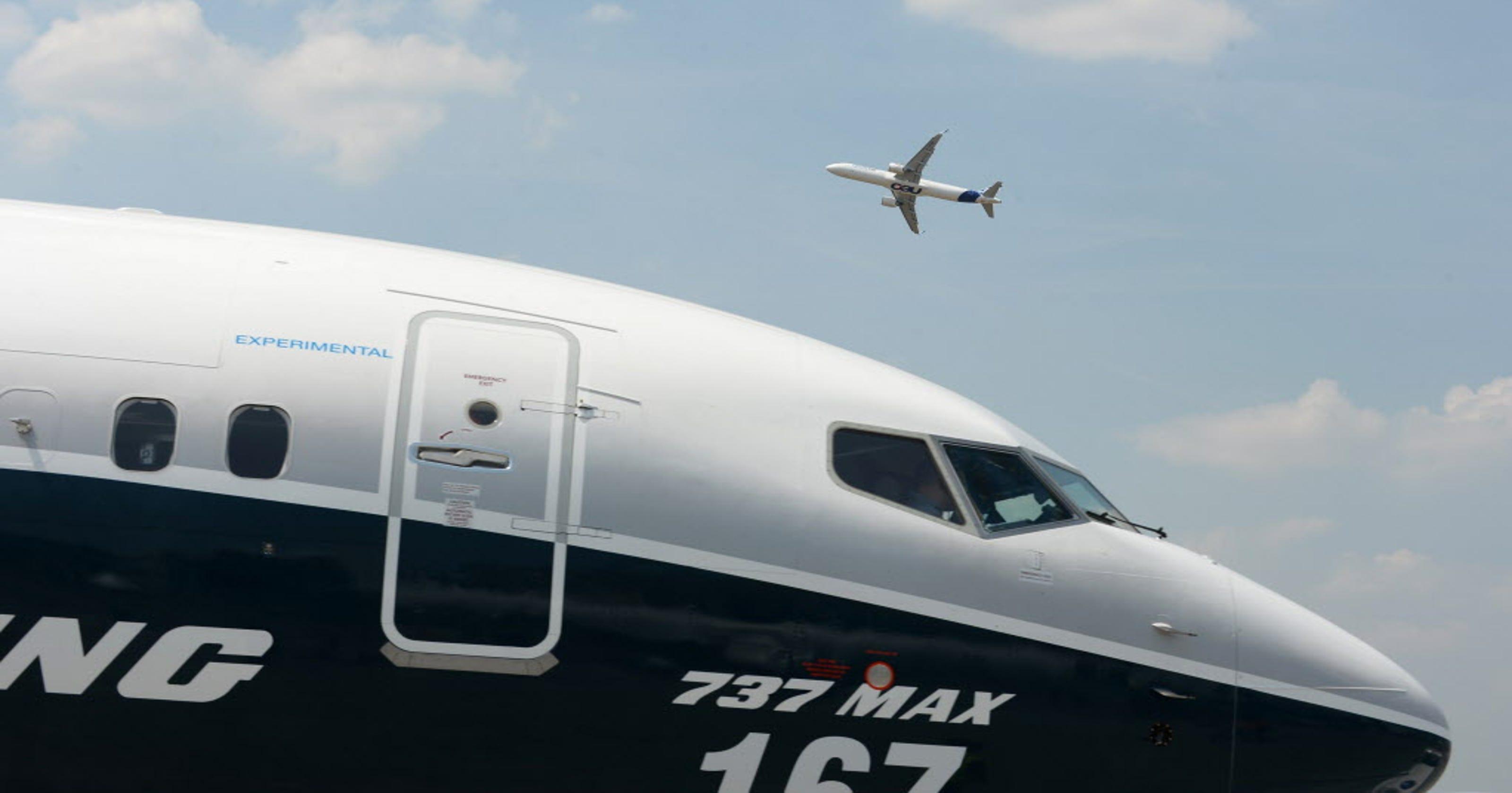Resultado de imagen para assembly line Boeing 737 max