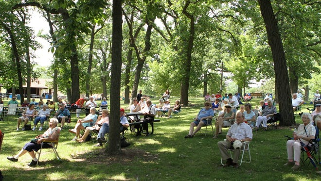 Lisa Edgar & RAZZMATAZZ will be performing at theLions Legend Park Band Shell at 2 p.m. Aug. 19.