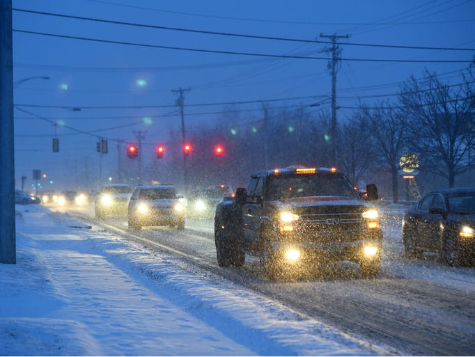 Traffics moves smoothly along Shelburne Road in South