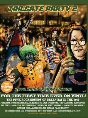 """""""Tailgate Party 2,""""  the 1998 Green Bay punk compilation album, arrived on vinyl on Friday for a special commemorative 20th anniversary edition."""