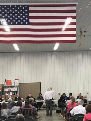 Residents possibly affected by a power line project had their say at a Pennsylvania Public Utility Commission public input hearing. (Jana Benscoter/photo)