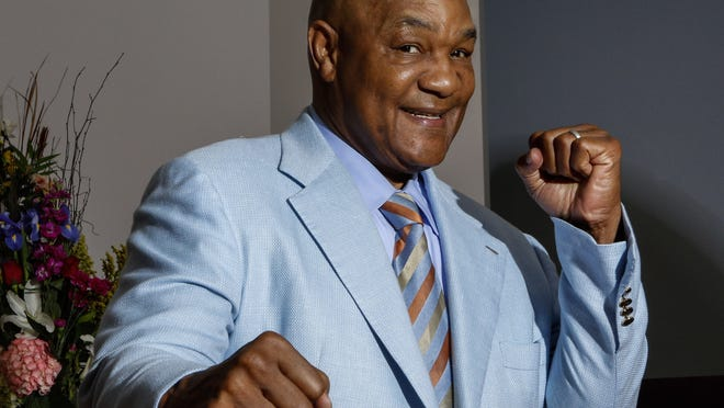 """George Foreman, pictured in 2014, was 40-0 when he lost to Muhammad Ali in """"The Rumble in the Jungle"""" (Photo: Troy Taormina, USA TODAY Sports)"""