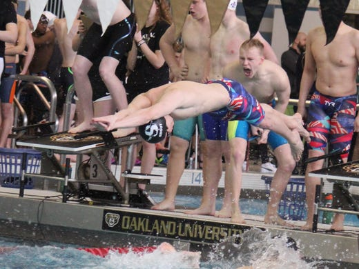 Swimming: Ann Arbor Skyline joins town powers with first