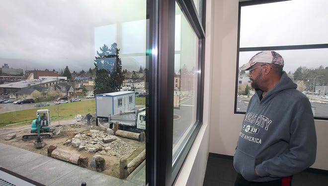 Bishop Larry Robertson is the inspiration and driving force behind the Marvin Williams Recreation Center at the corner of Eighth Street and Park Avenue in Bremerton. A grand opening for the center is scheduled for April 7.