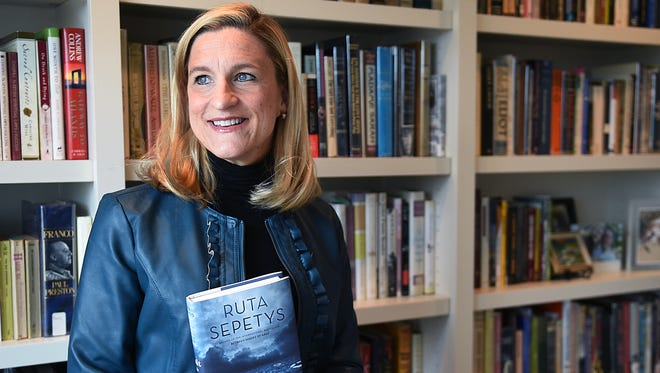 """Ruta Sepetys will do an author event at Parnassus Feb. 2, the same day her new book, """"Salt to the Sea,"""" will be released."""