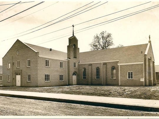 This was the Newman United Methodist Church building at Eighth and Fulton streets in Alexandria from 1955 until 1989, when it was torn down to make way for Interstate 49.
