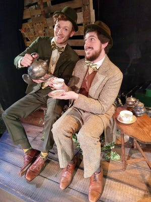 """Andrew Simek, left, and Austin Kiley star in """"A Year with Frog and Toad"""" at Cider Mill Playhouse in Endicott."""