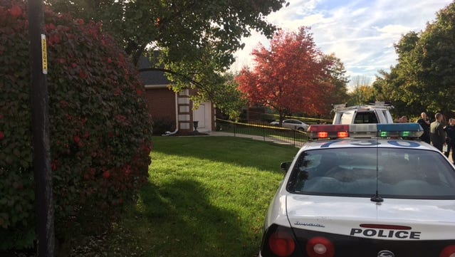 IMPD officers were dispatched to a home in the 8700 block of Cricket Tree Lane Tuesday, where they found an unresponsive man in the front yard of a home. He was pronounced dead on scene.