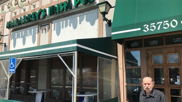 Malarkey's Irish Pub owner Domenico Policicchio has been given until the first of the year to find a new location.