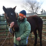 Watch: Horse trainer Kirk Ferris takes on Extreme Mustang Makeover