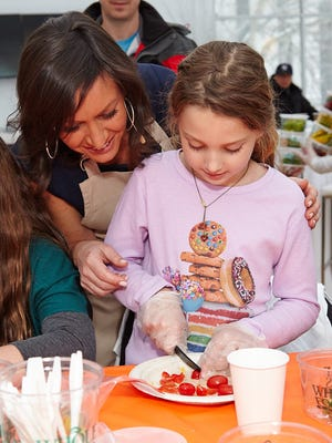 Kids' holiday cooking class at the Children's Museum of Manhattan, Dec. 11, 2016.