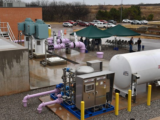 The Indirect Potable Reuse project is officially online