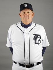 This is a 2012 photo of Gene Lamont of the Detroit
