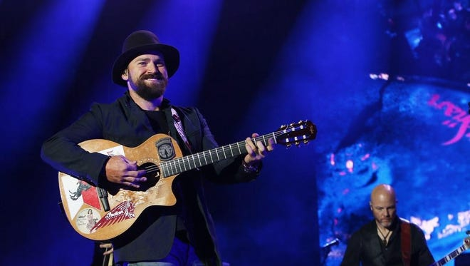 Zac Brown Band, pictured in 2015, have two performances scheduled for the PNC Bank Arts Center in Holmdel this July.