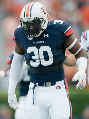 Auburn linebacker Tre' Williams is expected to be a leader among an inexperienced position group heading into the spring practices for 2016.