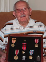 Carl Stillwell of Salem served with a reconnaissance unit in the Army during World War II. His unit spent most of its time in New Guinea and the Philippine Islands.