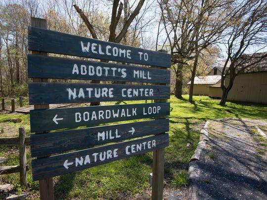 Abbott's Mill Nature Center near Milford.